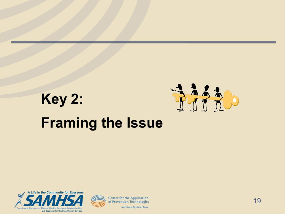 Framing the Issue Key 2: 19