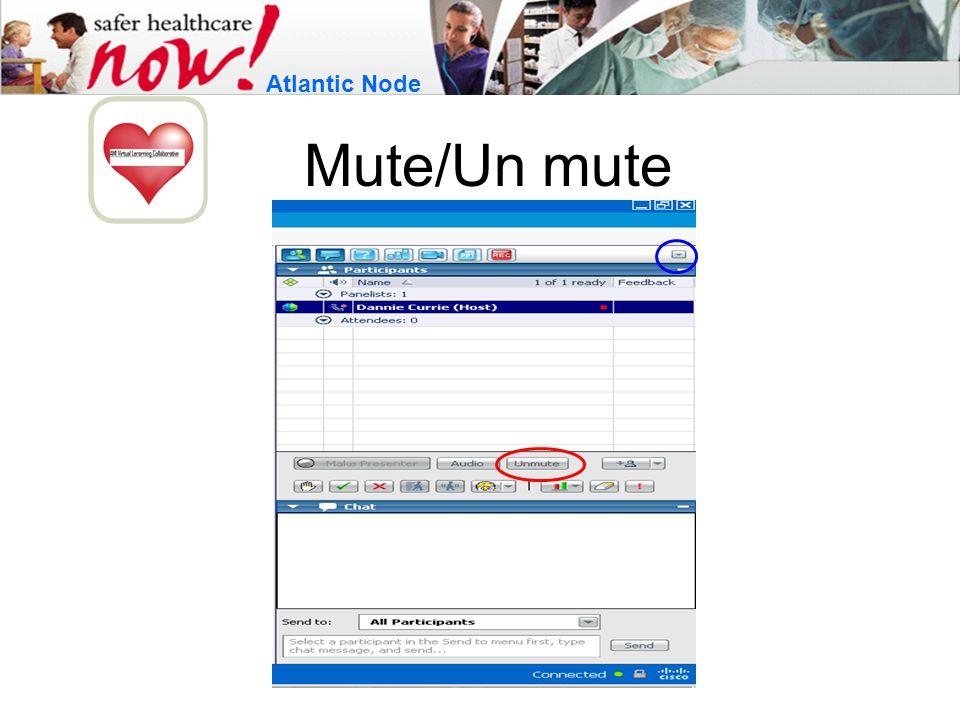 Mute/Un mute Atlantic Node
