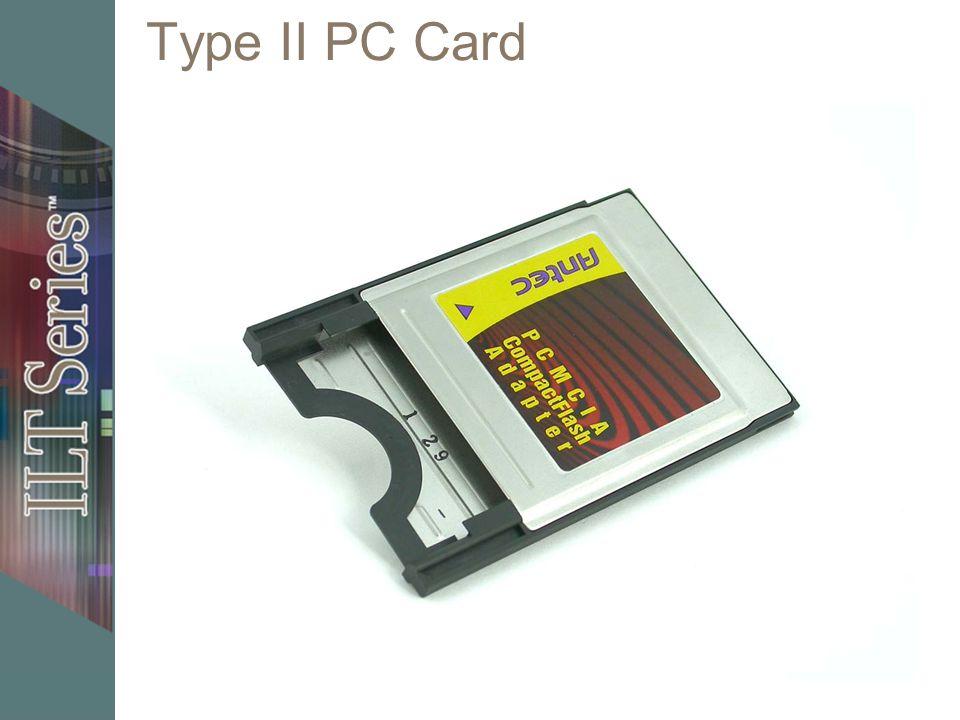 Type II PC Card