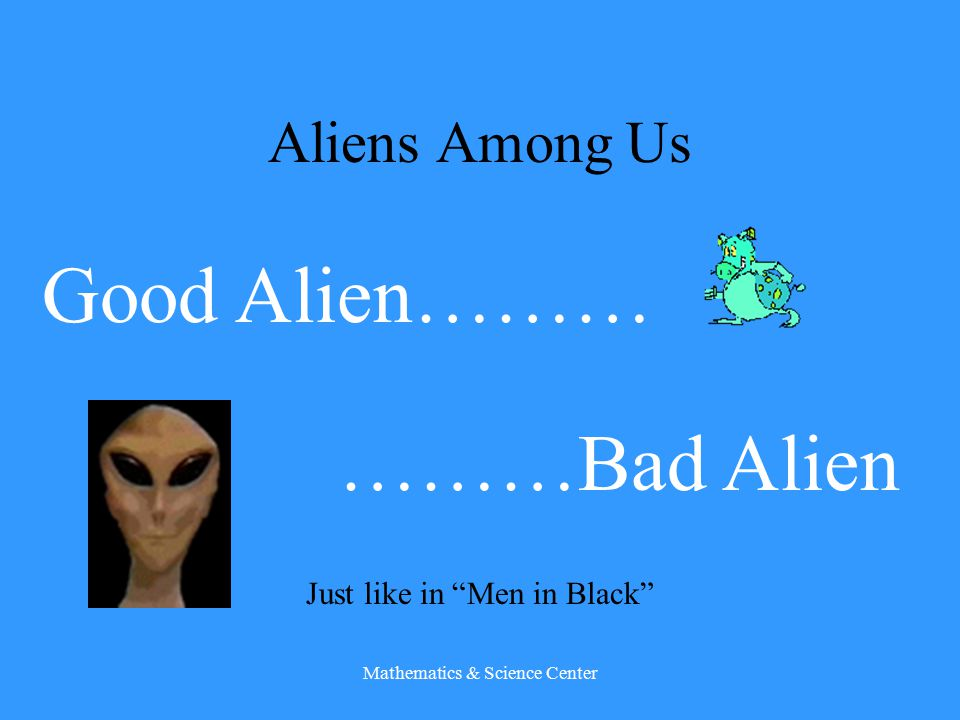 Aliens Among Us Invasive Species and Their Influence On Our World A lesson from the Mathematics & Science Center