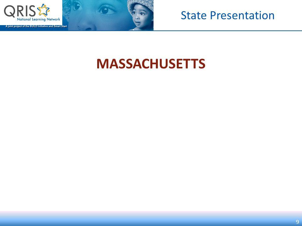 State Presentation MASSACHUSETTS 9