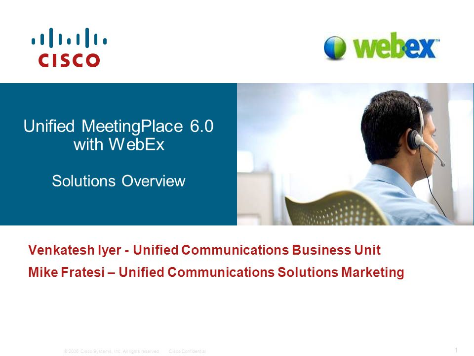 © 2006 Cisco Systems, Inc. All rights reserved.Cisco Confidential 22