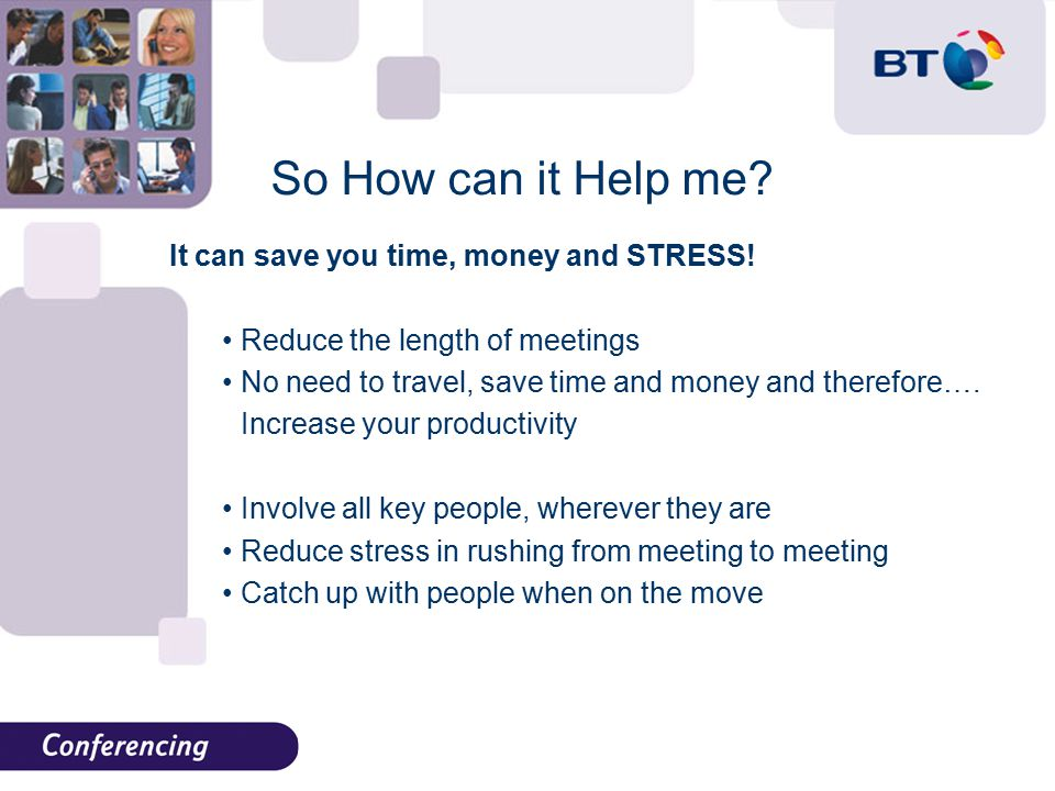So How can it Help me. It can save you time, money and STRESS.