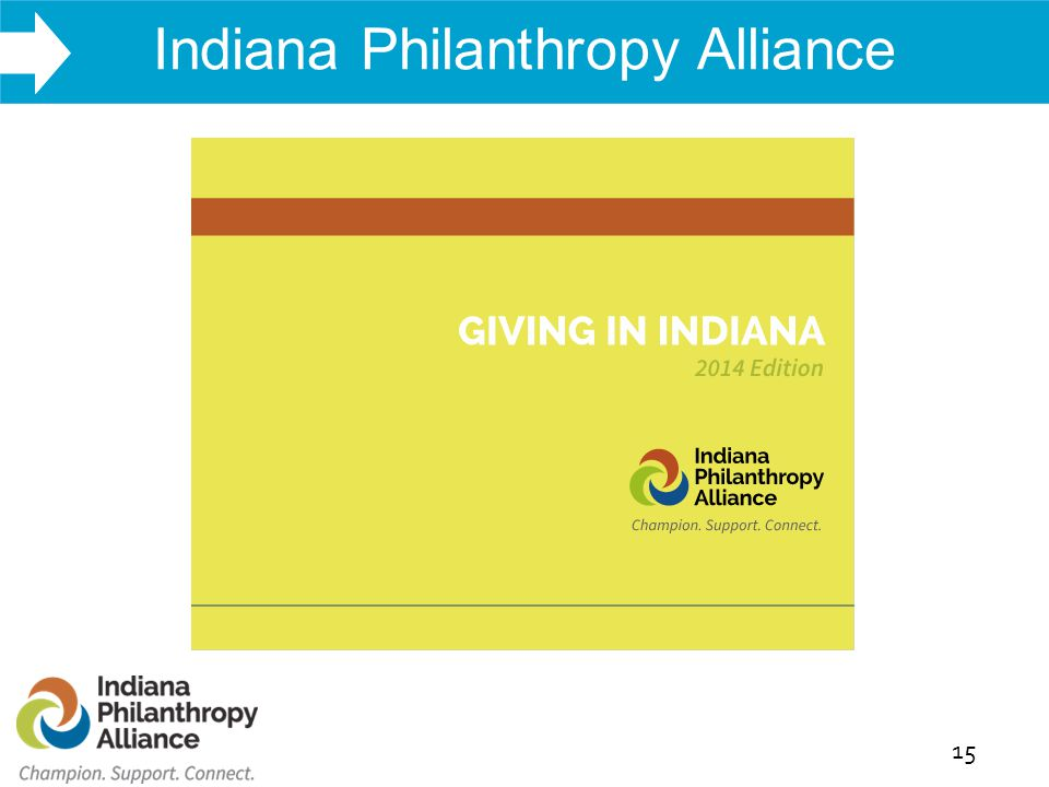 WHAT WE DO Indiana Philanthropy Alliance 15