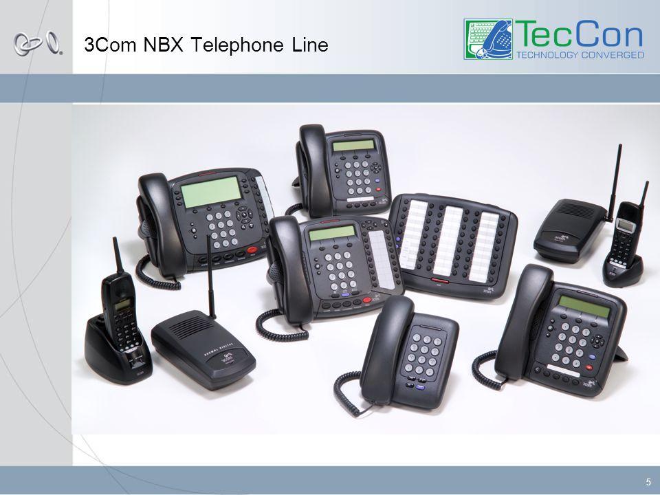 5 3Com NBX Telephone Line