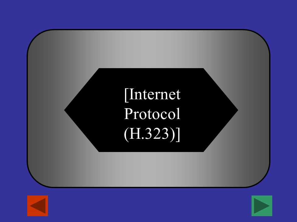 [What is IP?] A B C D Industrial Process Infectious Person Imperfect ProgramInternet Protocol