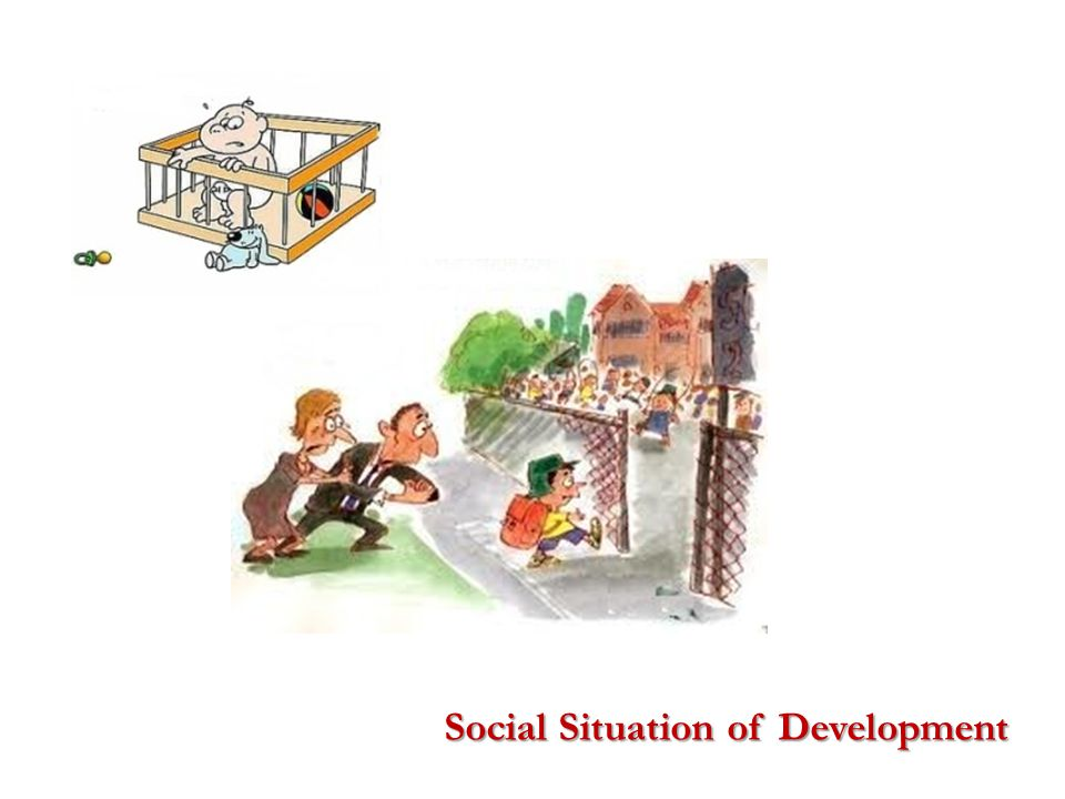 a gap between the child's manifest needs and the current social means of their satisfaction