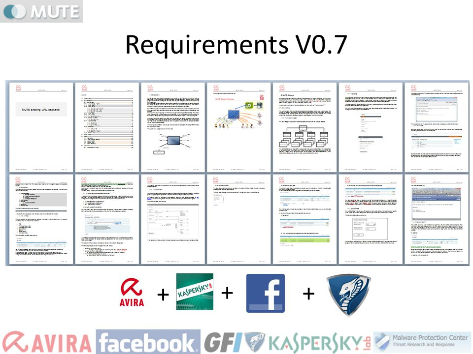Requirements V0.7 + + +
