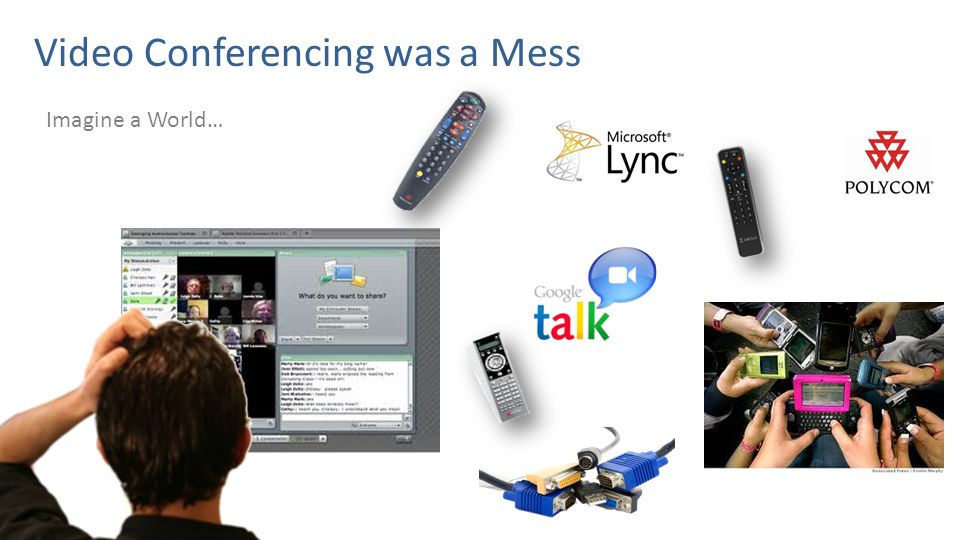 Imagine a World… Video Conferencing was a Mess