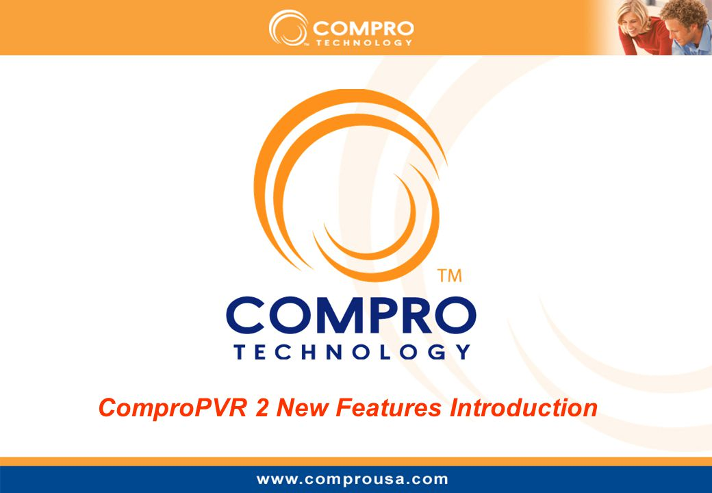 ComproPVR 2 New Features Introduction