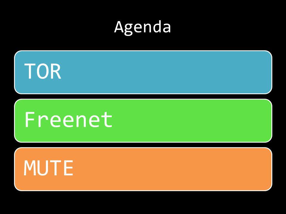 Agenda TORFreenetMUTE