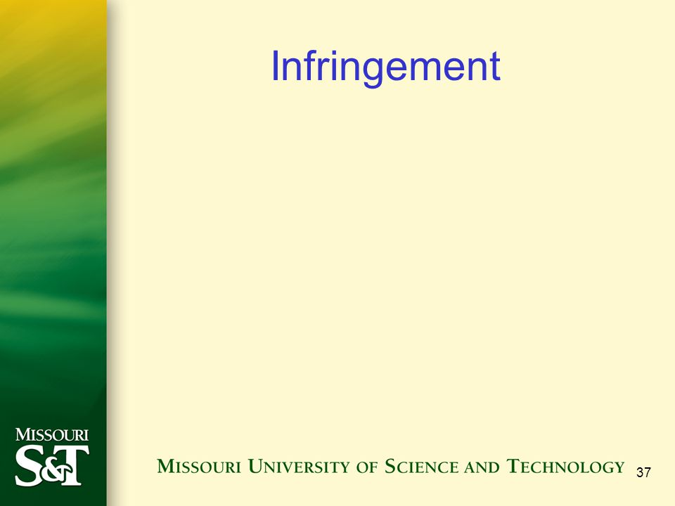 Infringement 37