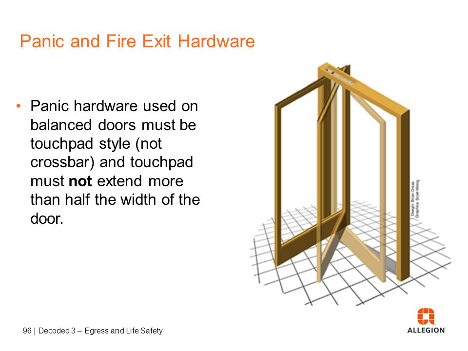 95 | Decoded 3 – Egress and Life Safety Panic and Fire Exit Hardware P95