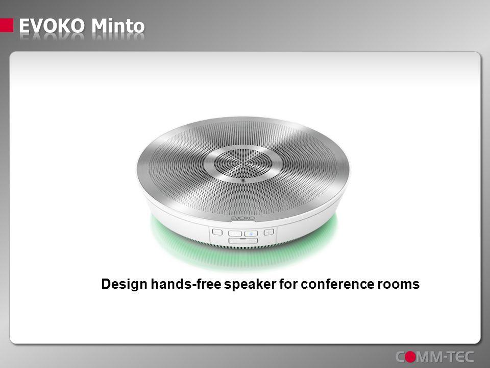 Design hands-free speaker for conference rooms