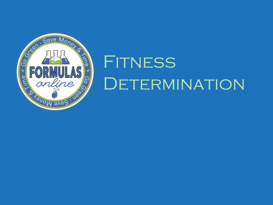 Fitness Determination