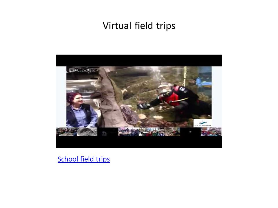 Virtual field trips School field trips
