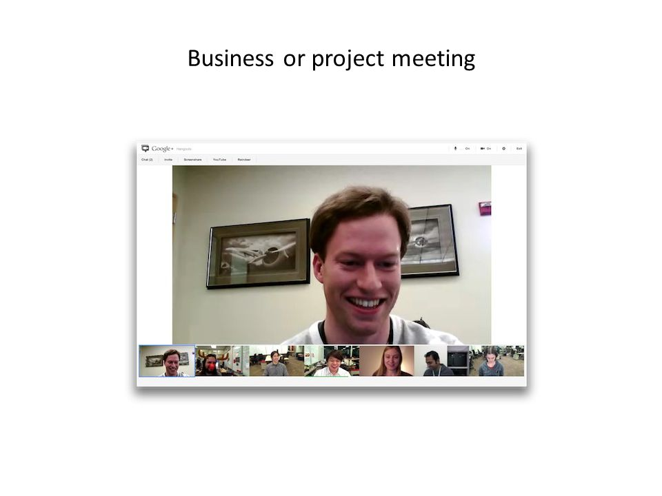 Business or project meeting