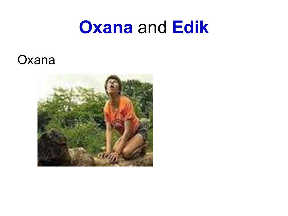 Oxana and Edik Oxana