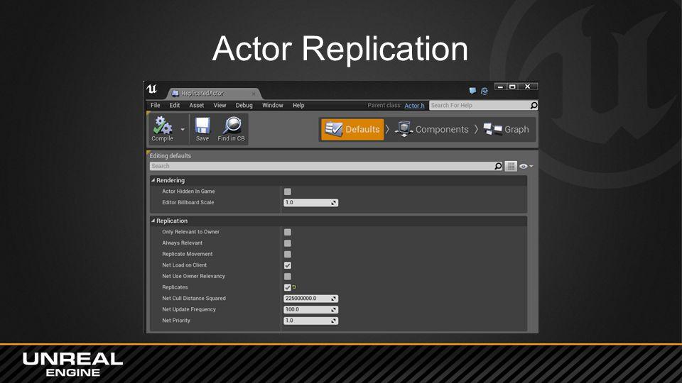 Actor Replication