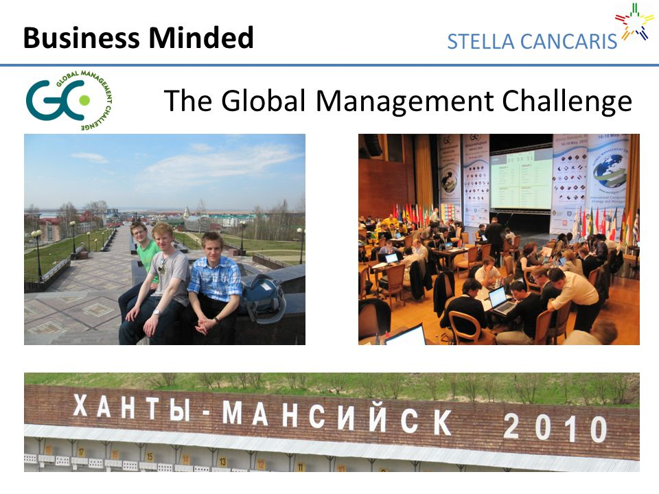 Business Minded The Global Management Challenge