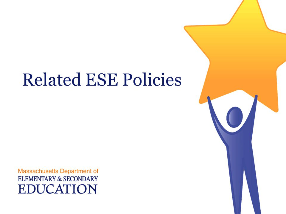 Related ESE Policies