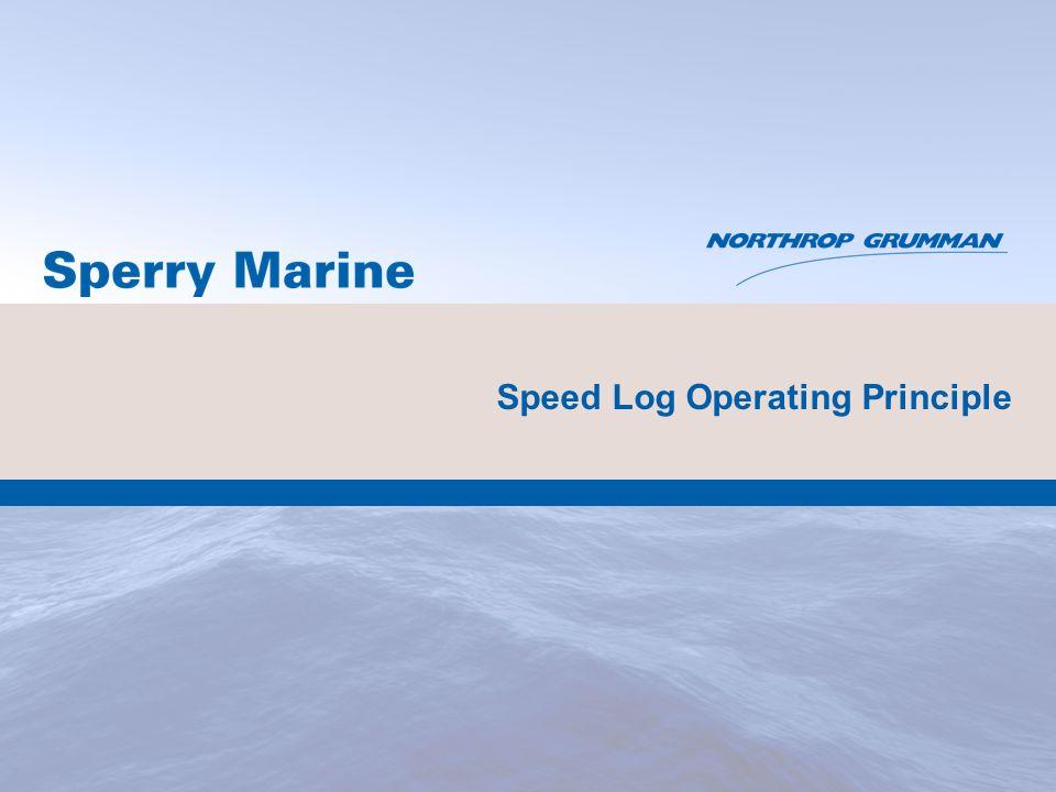 46 NAVIKNOT Speed Log 550 DD Retrofit of Display Unit for SRD 500 Northrop Grumman Private/Proprietary Level I