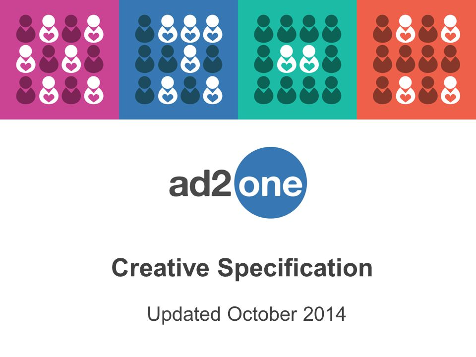Updated October 2014 Creative Specification