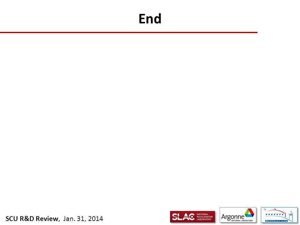 SCU R&D Review, Jan. 31, 2014 End