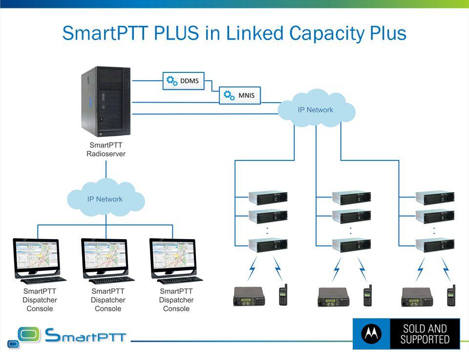 SmartPTT PLUS in Linked Capacity Plus