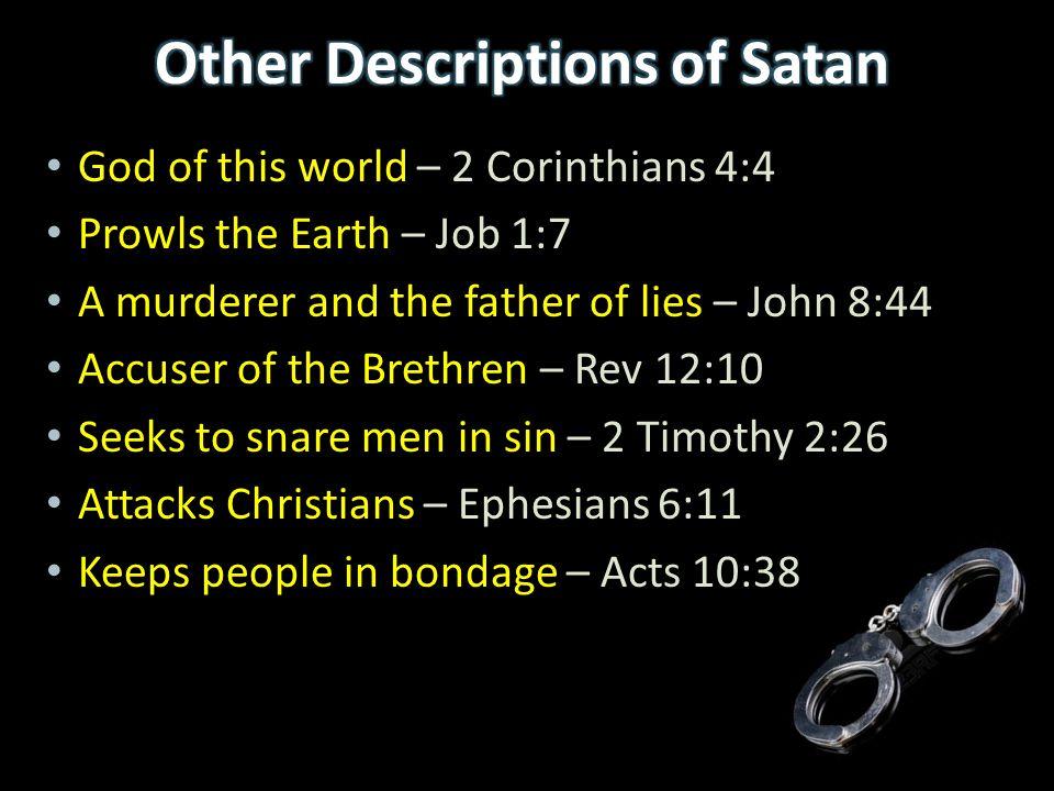 Hebrew - Evil Spirit ra'-râ 'âh – 'Evil' rûach – 'Breath' Greek – Demon - Evil Spirit - god 'daimon' and 'daimonion'