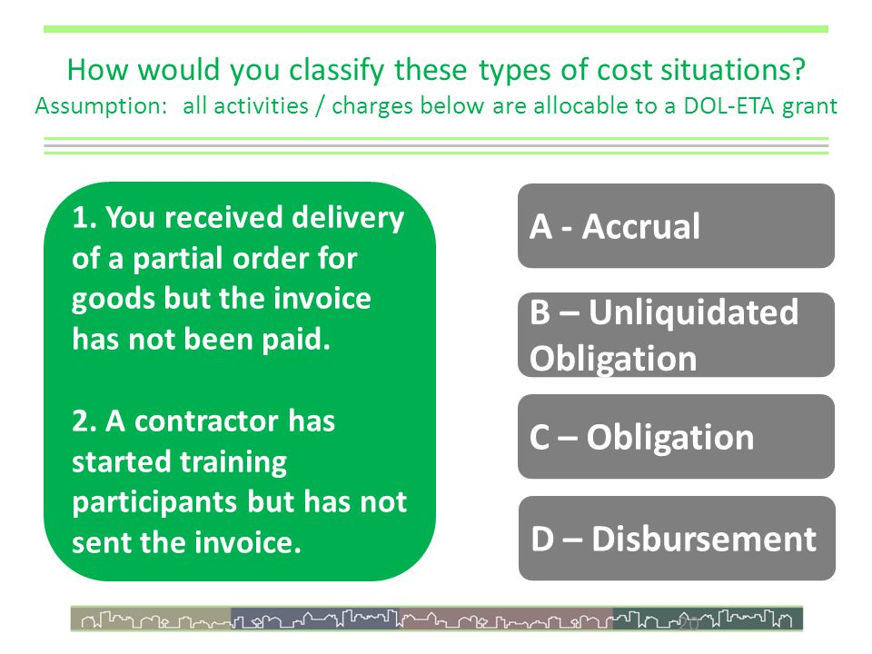 20 How would you classify these types of cost situations.