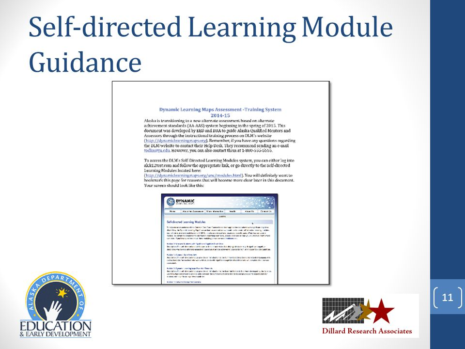 Self-directed Learning Module Guidance 11