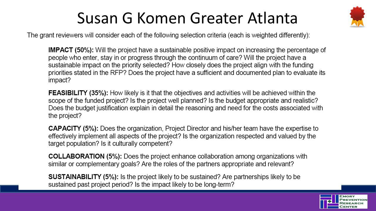 Susan G Komen Greater Atlanta