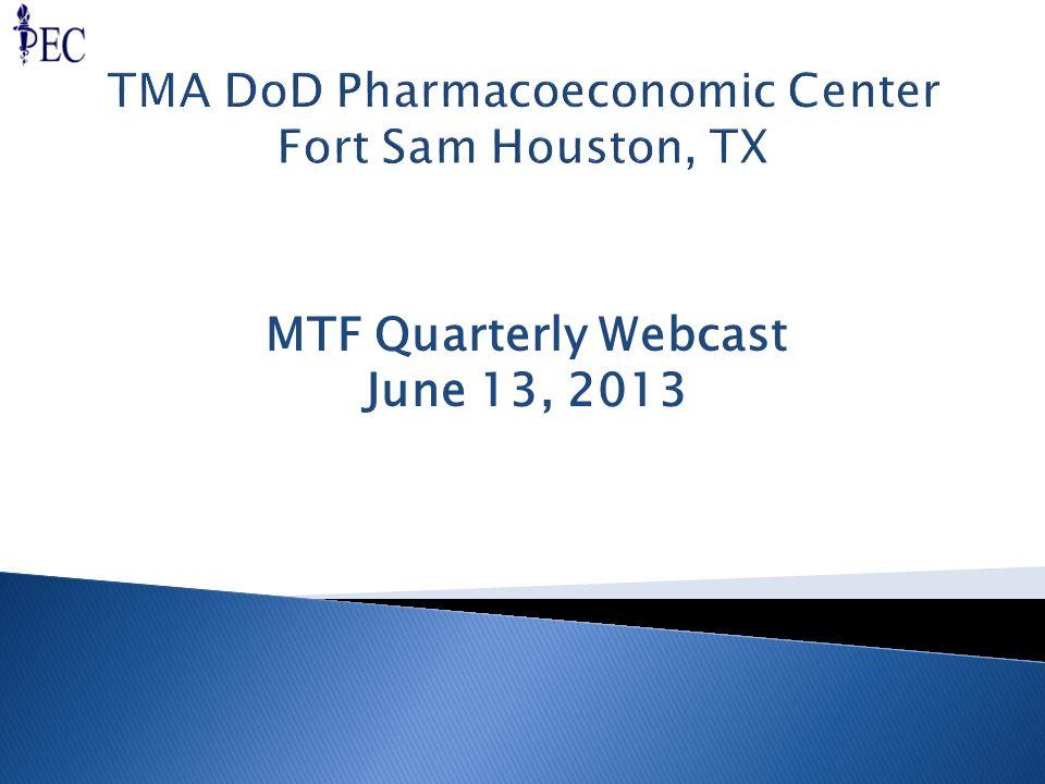 MTF Quarterly Webcast June 13, 2013