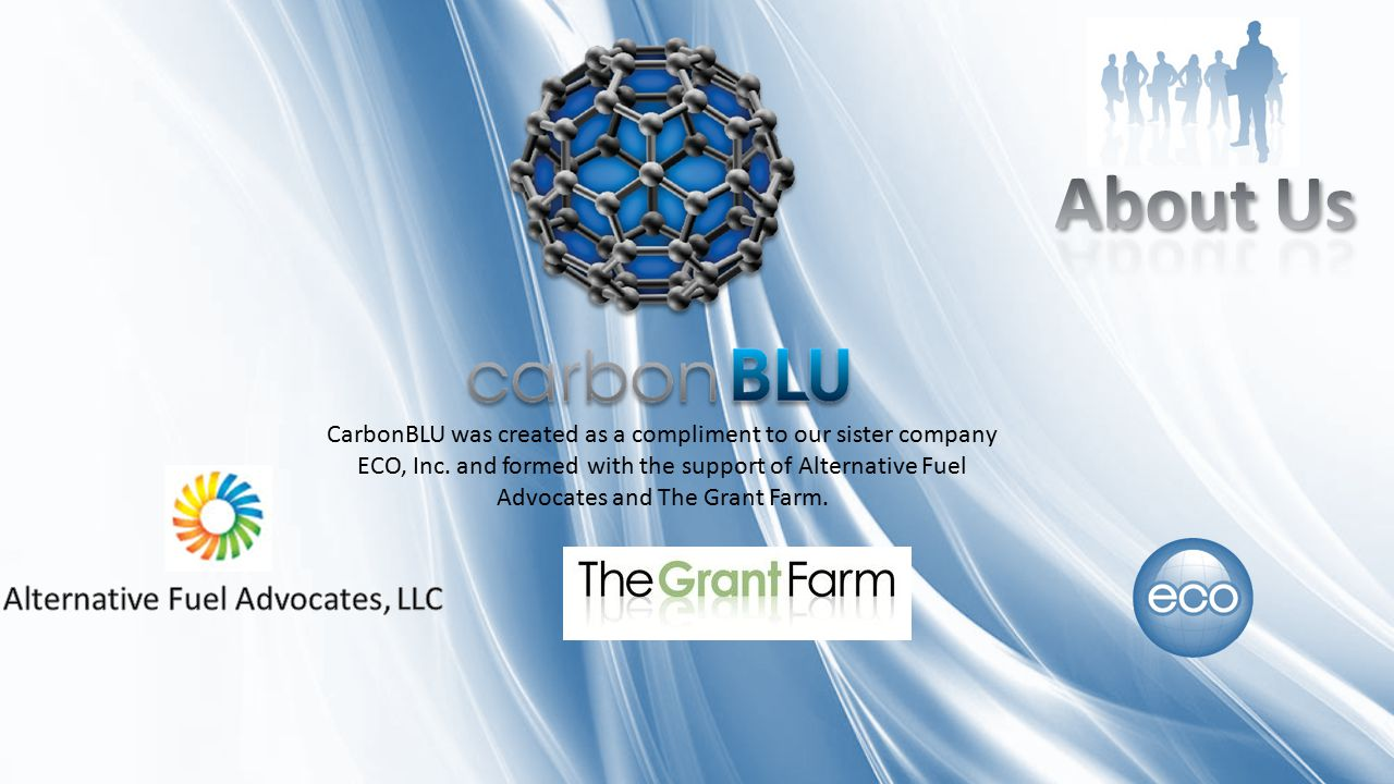 CarbonBLU was created as a compliment to our sister company ECO, Inc.