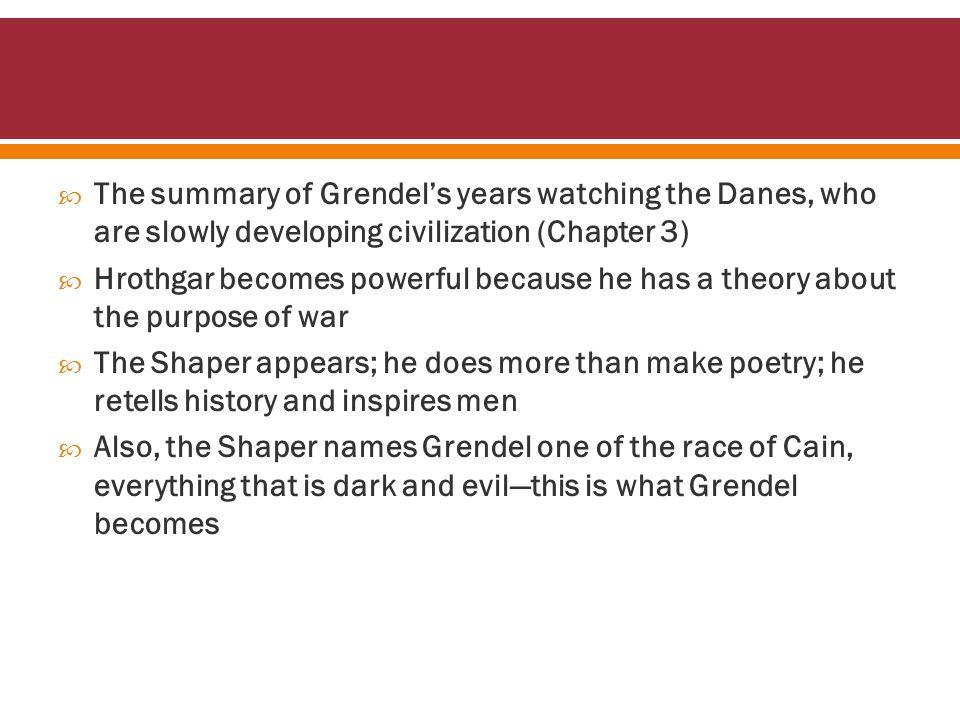  Both Grendel and Unferth exhibit characteristics of the anti-hero