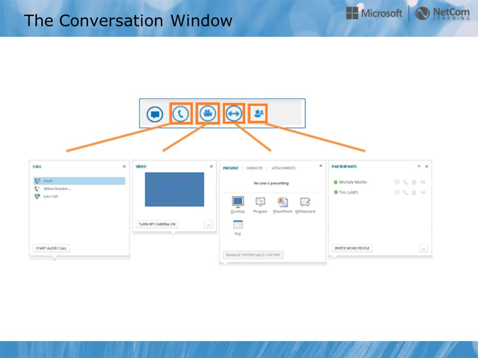The Conversation Window
