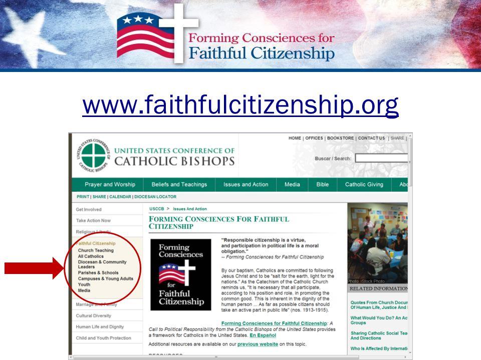 www.faithfulcitizenship.org