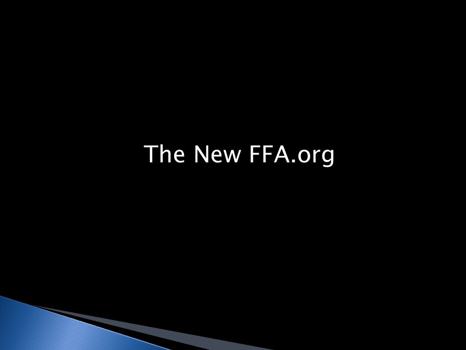 The New FFA.org