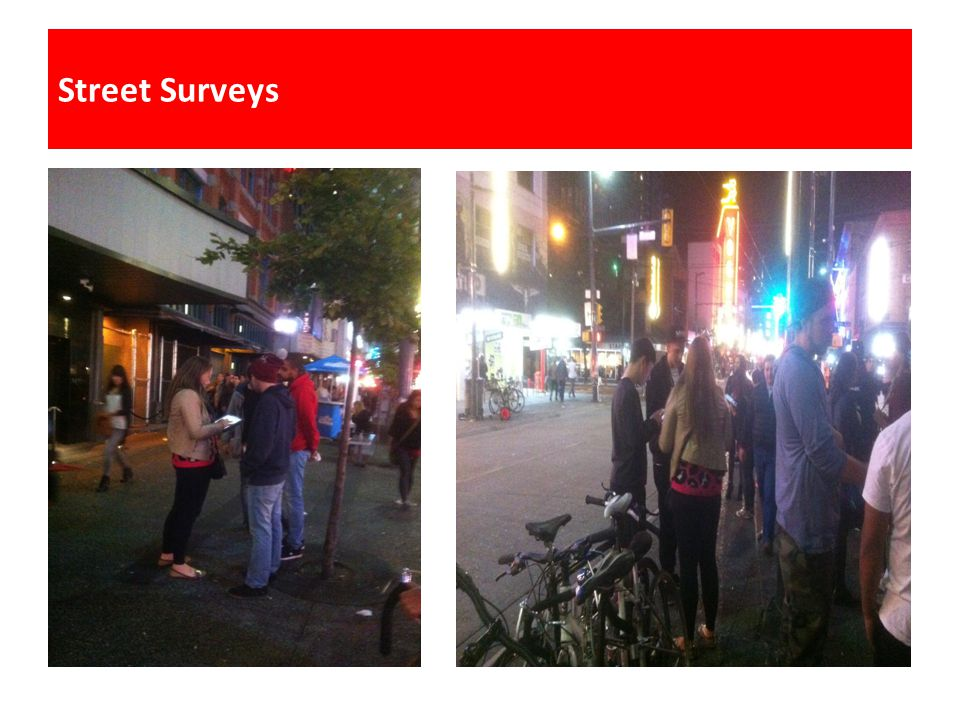Street Surveys