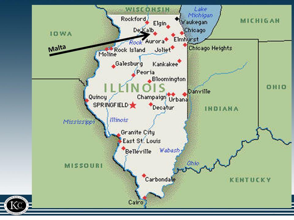Illinois Map Malta