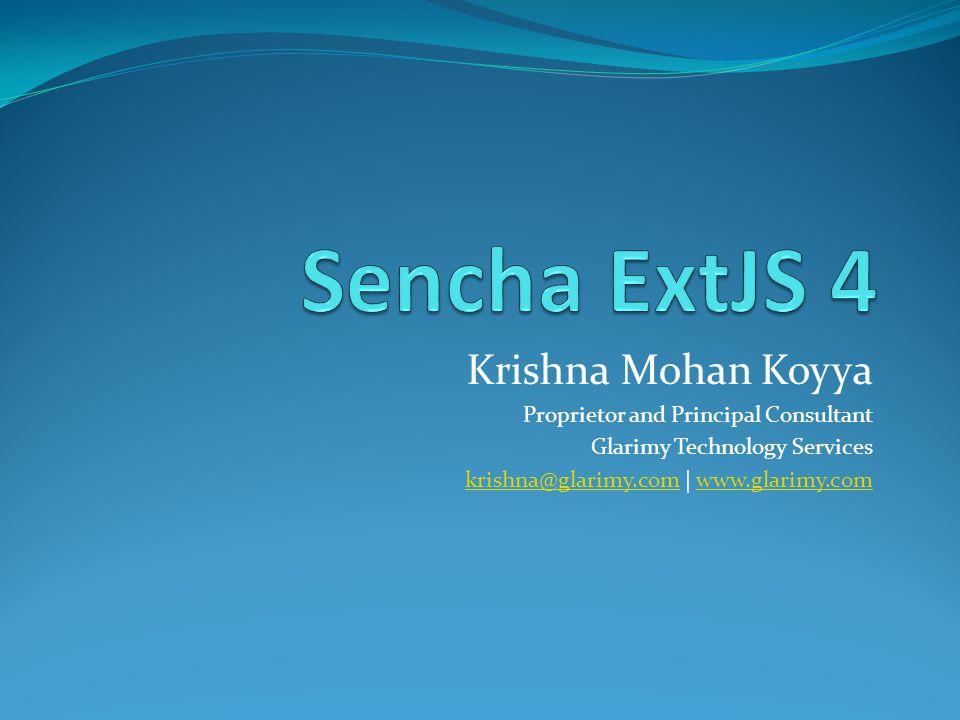 Krishna Mohan Koyya Proprietor and Principal Consultant Glarimy Technology Services krishna@glarimy.comkrishna@glarimy.com | www.glarimy.comwww.glarimy.com