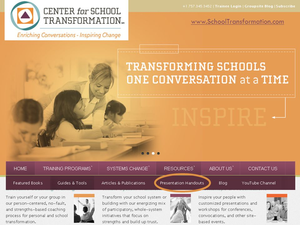 www.SchoolTransformation.com