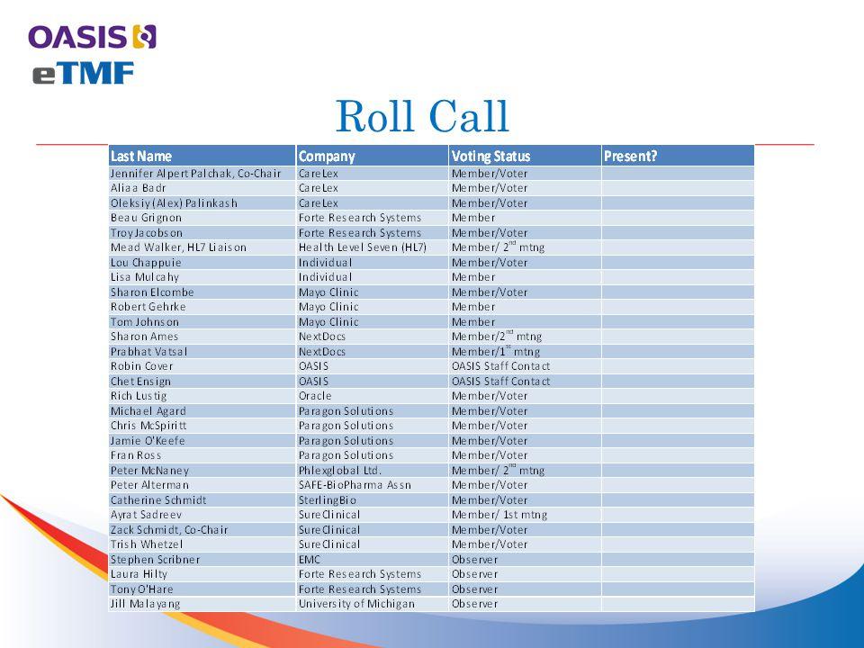 Roll Call