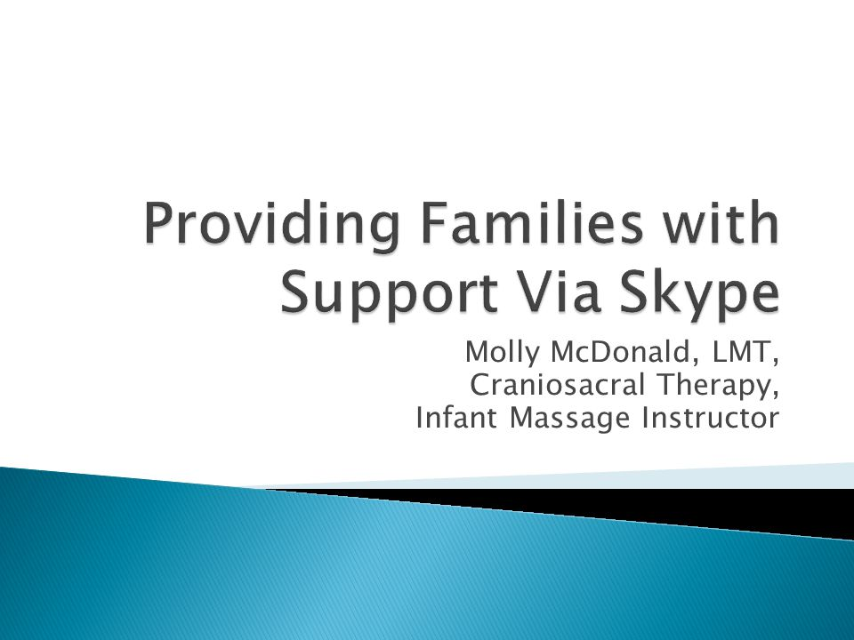 Molly McDonald, LMT, Craniosacral Therapy, Infant Massage Instructor