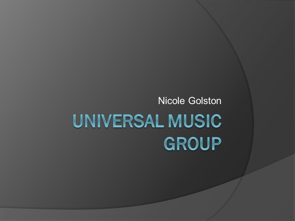 UMG Business Model  Diverse group of business divisions has allowed the company to respond quickly and capitalize on the changing music industry  Different business divisions at UMG work together in great harmony throughout the whole process of publishing and eventually selling an artist's music  The eLab's division is responsible for handling the company's electronic commerce initiatives, internet exploration, and new technology opportunities worldwide