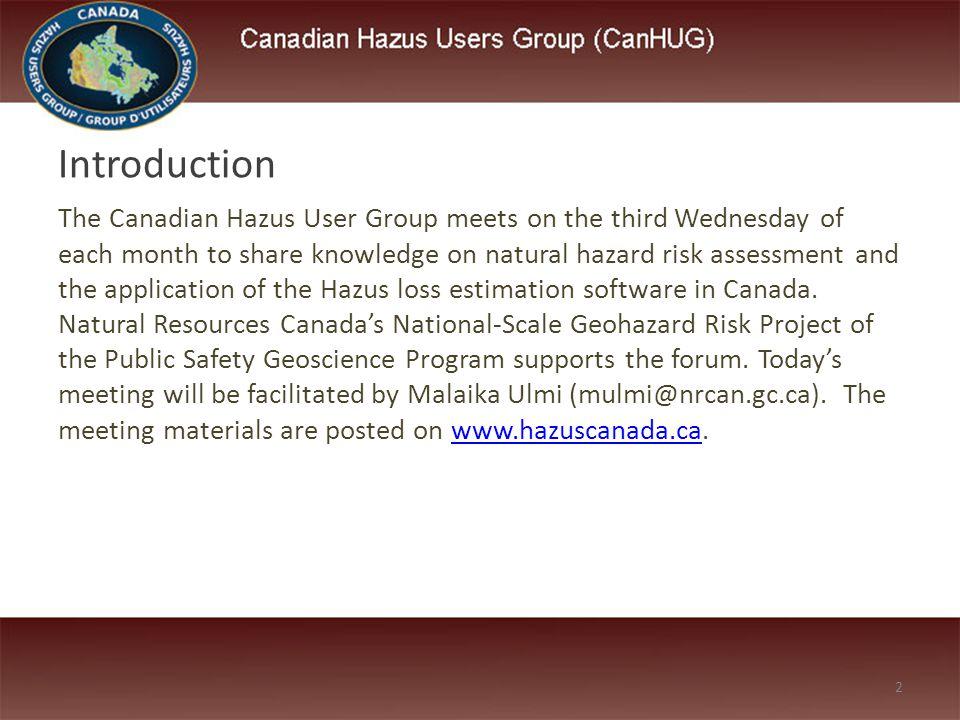 13 Presentation: Municipal Risk Assessment Tool – Sally Turney, Insurance Bureau of Canada