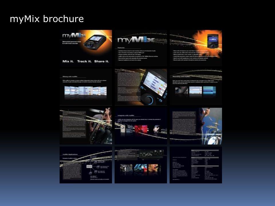 myMix brochure