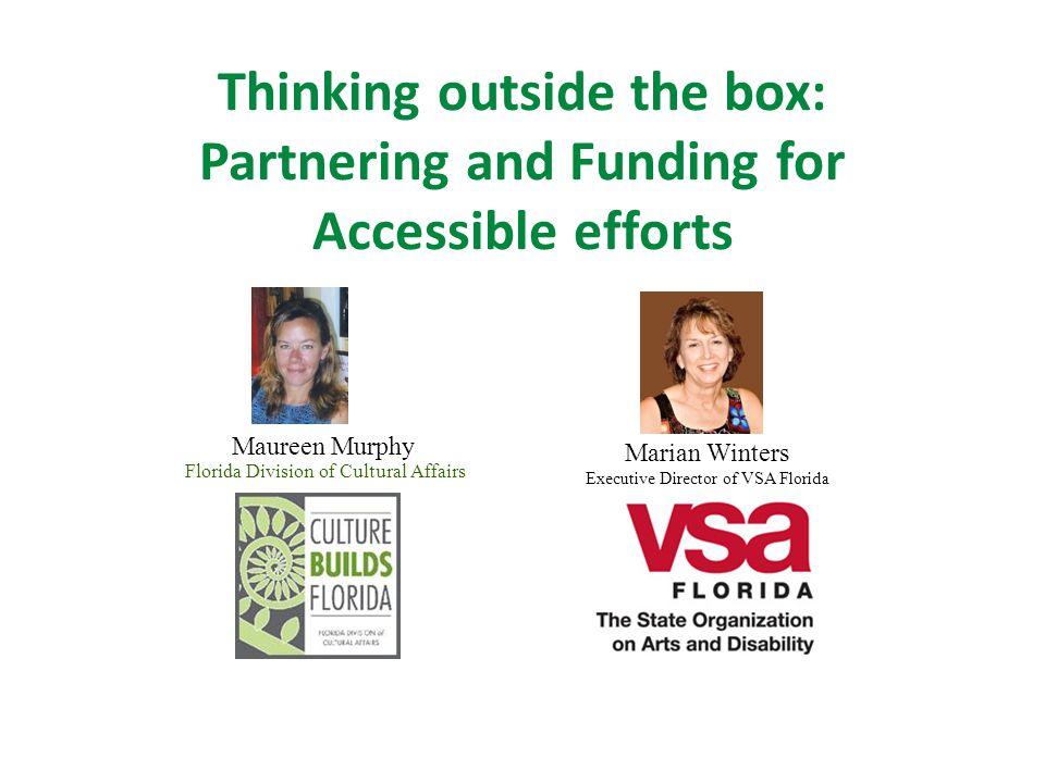 VSA Florida Partnerships Museum Performing Arts