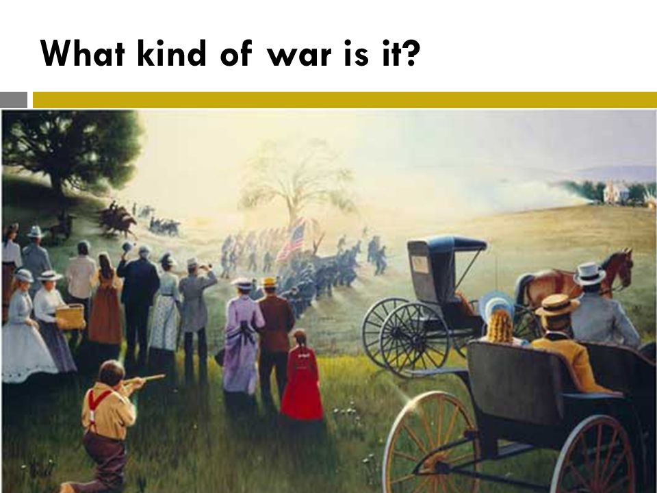 What kind of war is it?